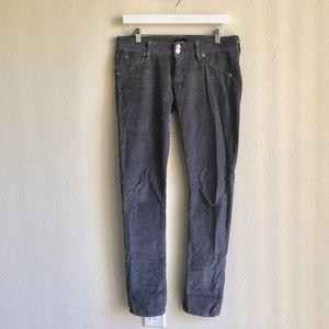 Hudson Grey Corduroy Jeans
